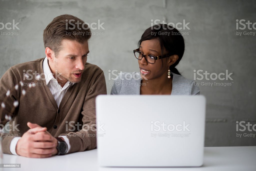 We make a great team together royalty-free stock photo