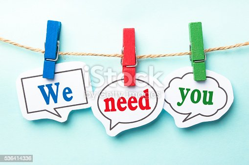 istock We need you 536414336