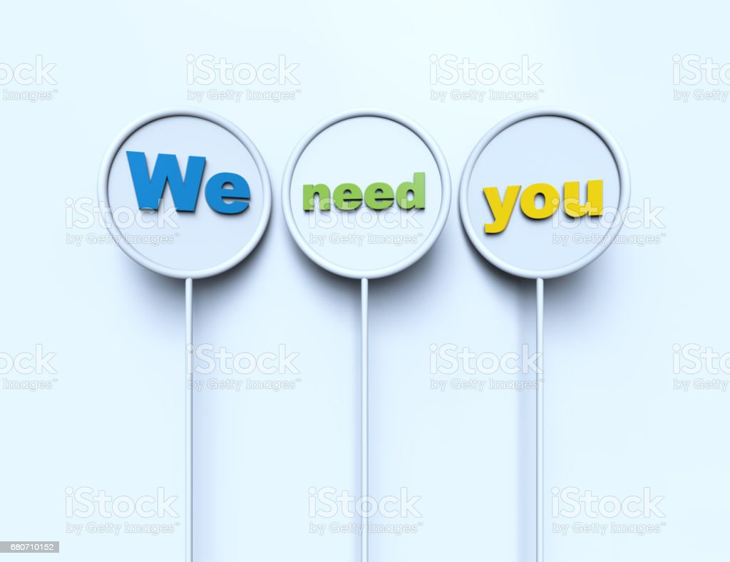 Nous avons besoin de vous - Photo