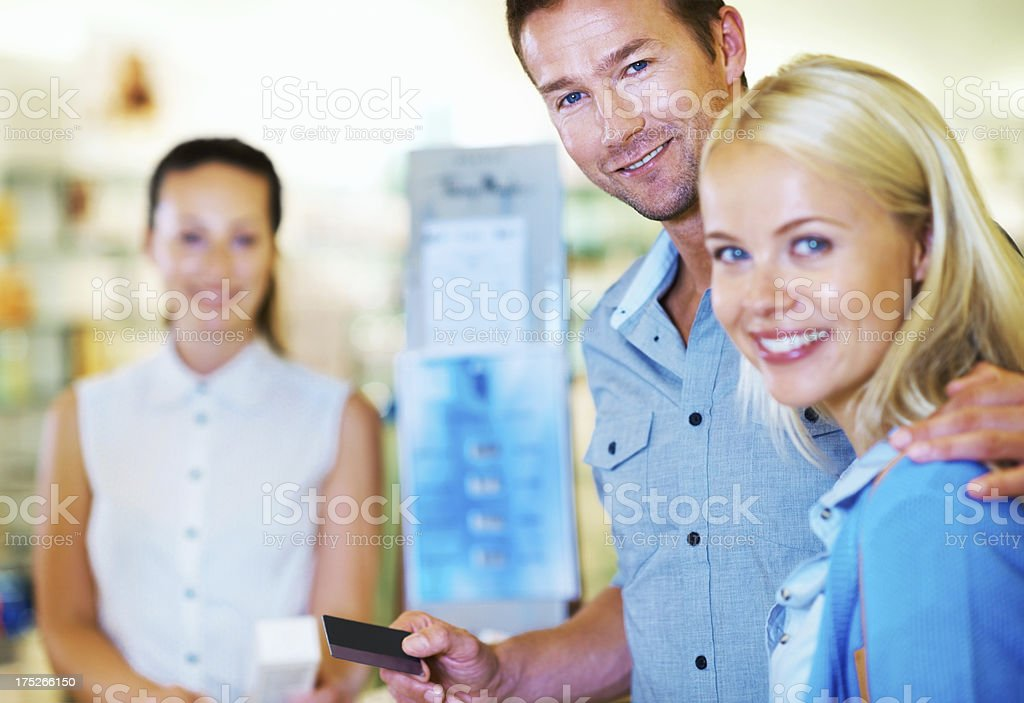 We never carry cash royalty-free stock photo