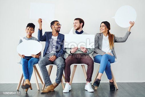 855443864 istock photo We not keeping our opinions to ourselves 1095954112