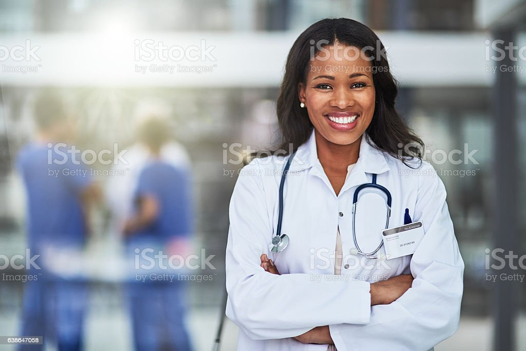 We offer our patients premium healthcare here stock photo