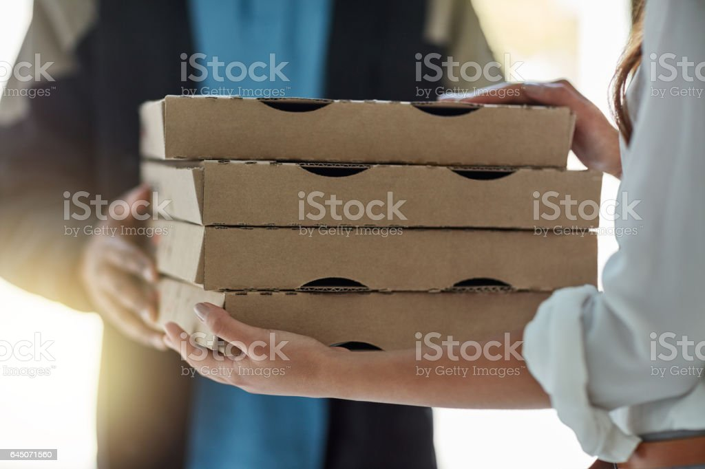 We put the 'fast' in fast food stock photo
