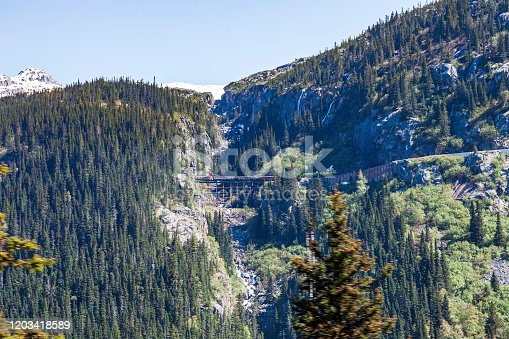 We really enjoyed the Rocky Walls, the Tall Pines and the Snow Capped Mountain Views on the White Pass Mountain Tourist Train