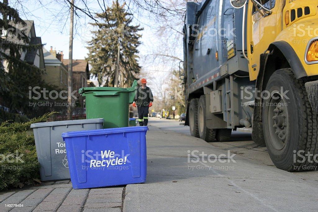 We Recycle 2 stock photo