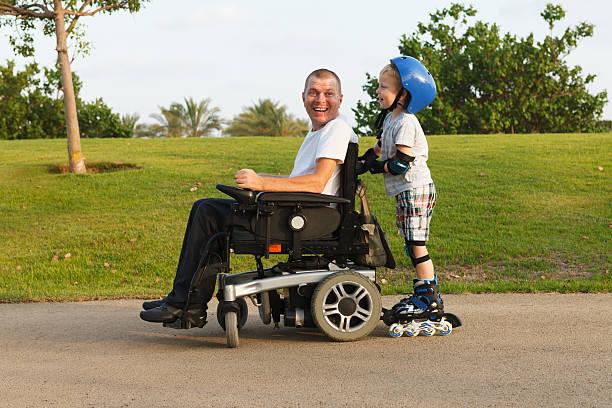 Wir Rollerbladen mit Sohn – Foto