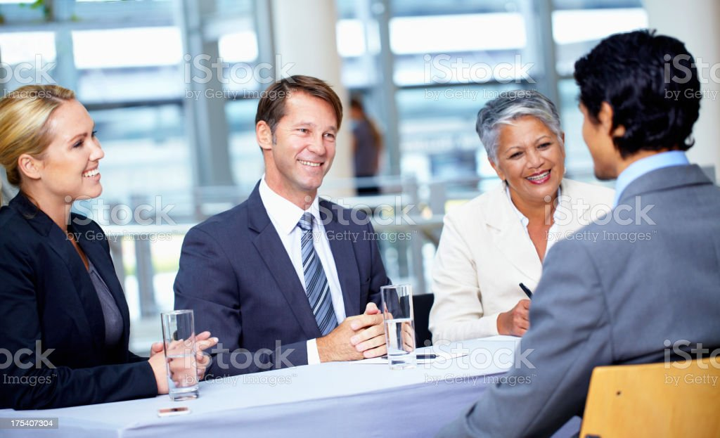 We see great potential in you royalty-free stock photo