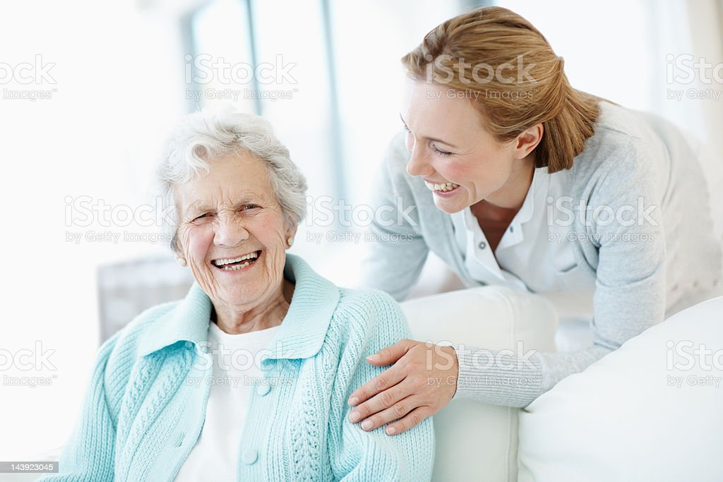 We share a great sense of humour stock photo