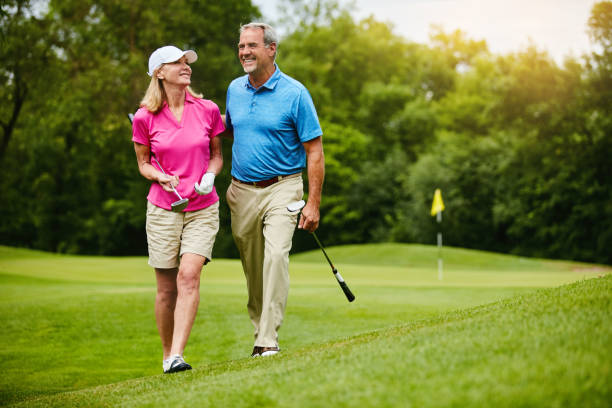 we share a love for golf - golf stock photos and pictures