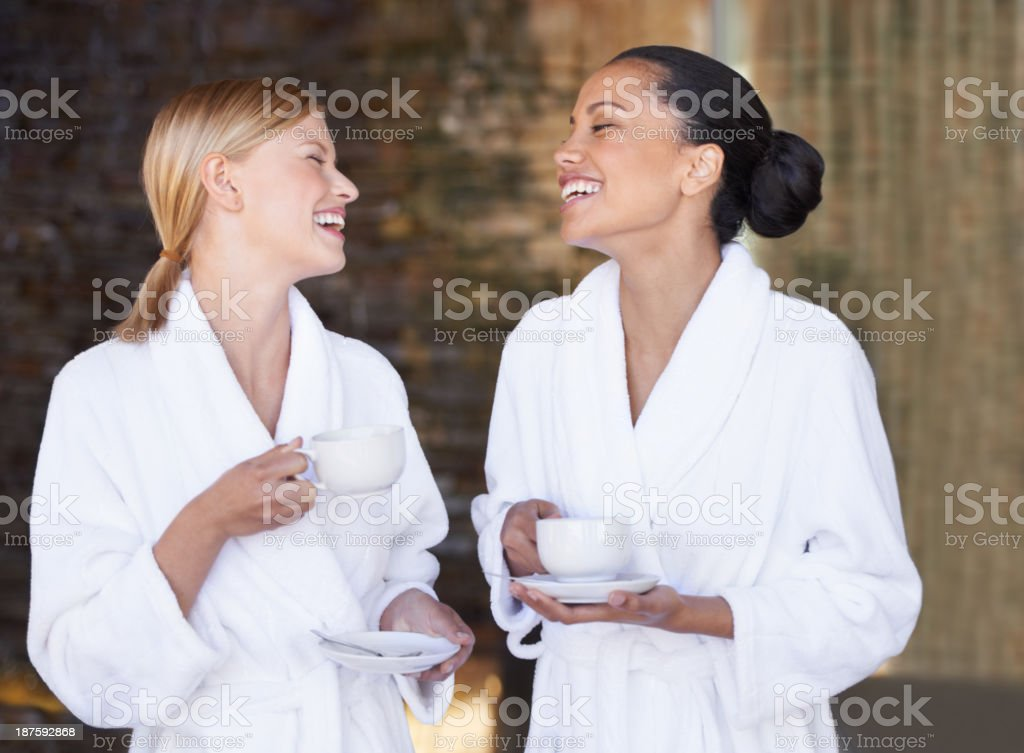 We should do this more often! stock photo