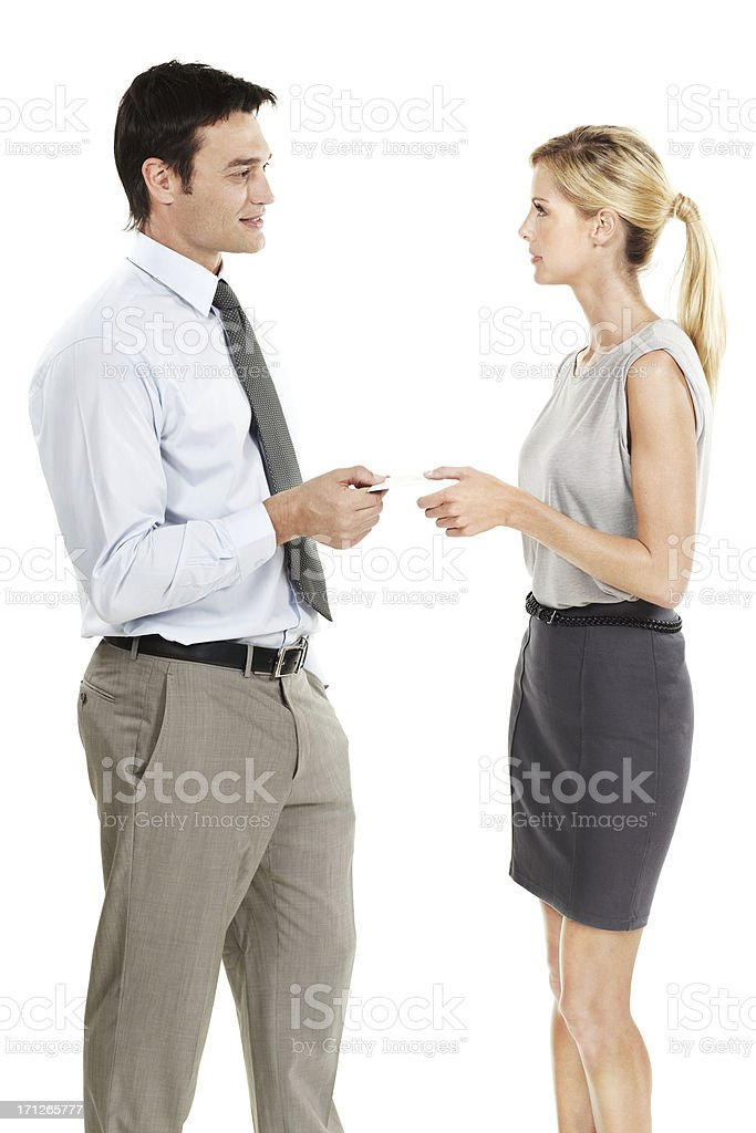 We should keep in touch royalty-free stock photo