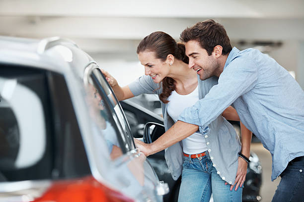 We should organise a test drive... stock photo