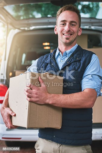 635967404 istock photo We specialize in fast and efficient delivery 884563688