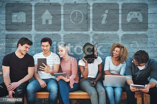 istock We stay connected everywhere we go 1139033409