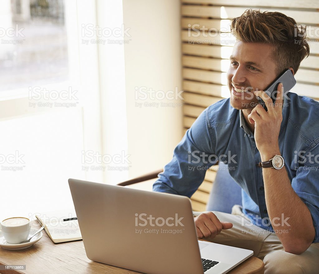 We still on for that catch up meeting? royalty-free stock photo