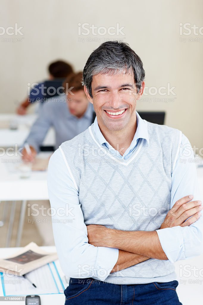 We take care of business 24/7! royalty-free stock photo