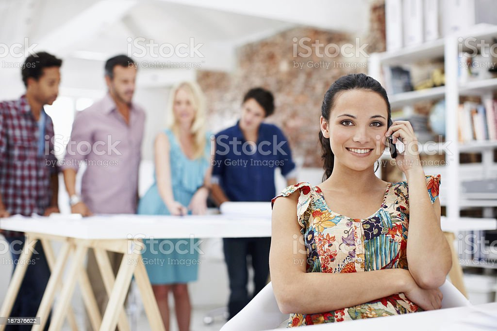 We take designing to the next level royalty-free stock photo