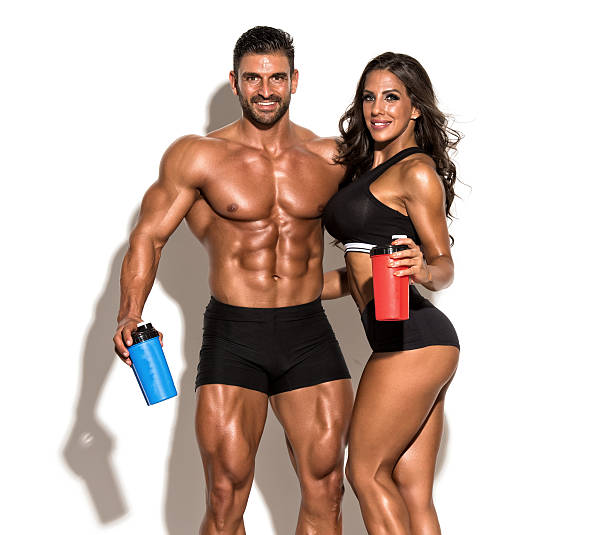 We take our supplements, do you? stock photo