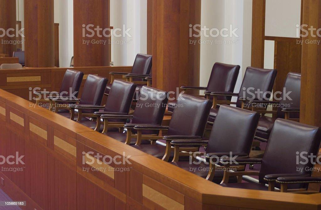 We the Jury stock photo