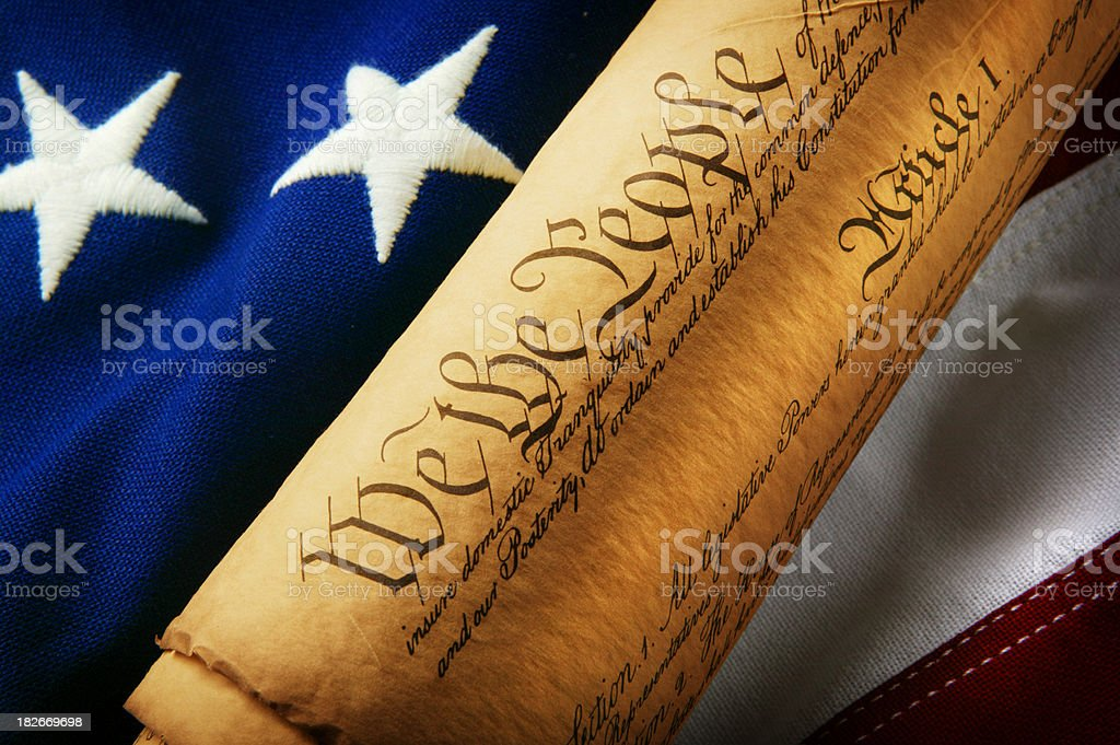We the People 8 royalty-free stock photo