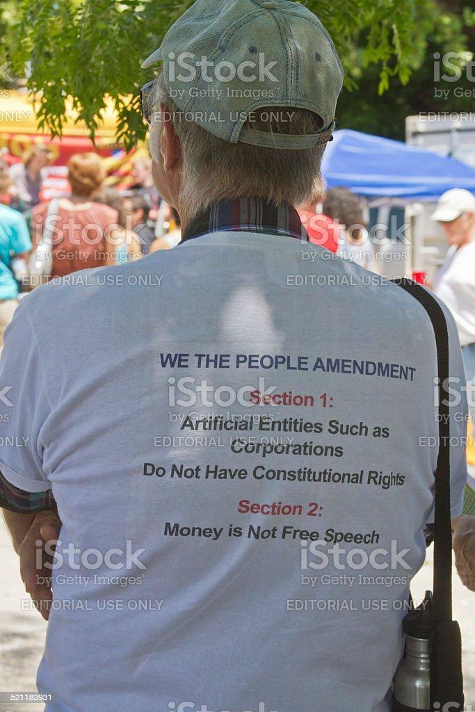 We The People Amendment stock photo