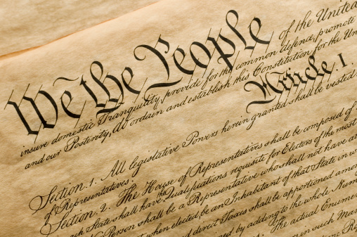 We The People Stock Photo - Download Image Now