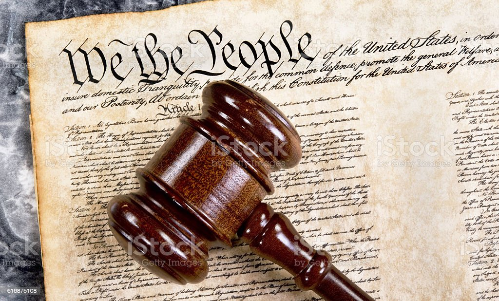 We the People. stock photo