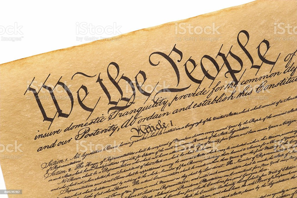 We The People.... royalty-free stock photo