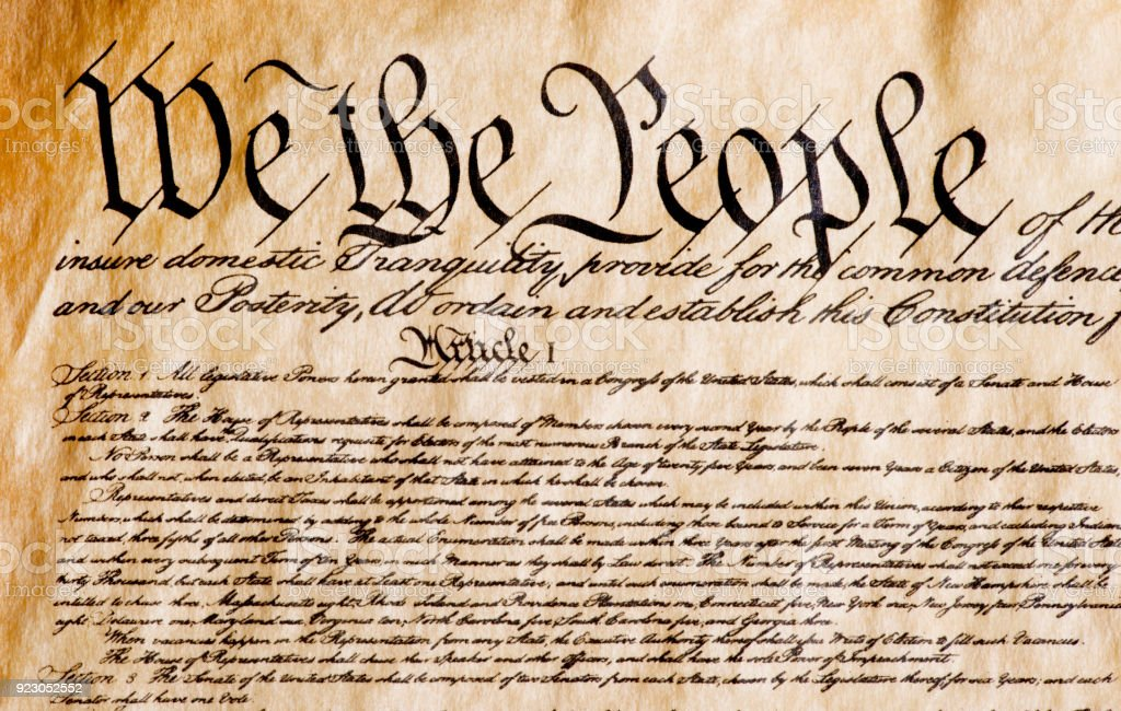 We The People Stock Photo - Download Image Now - iStock