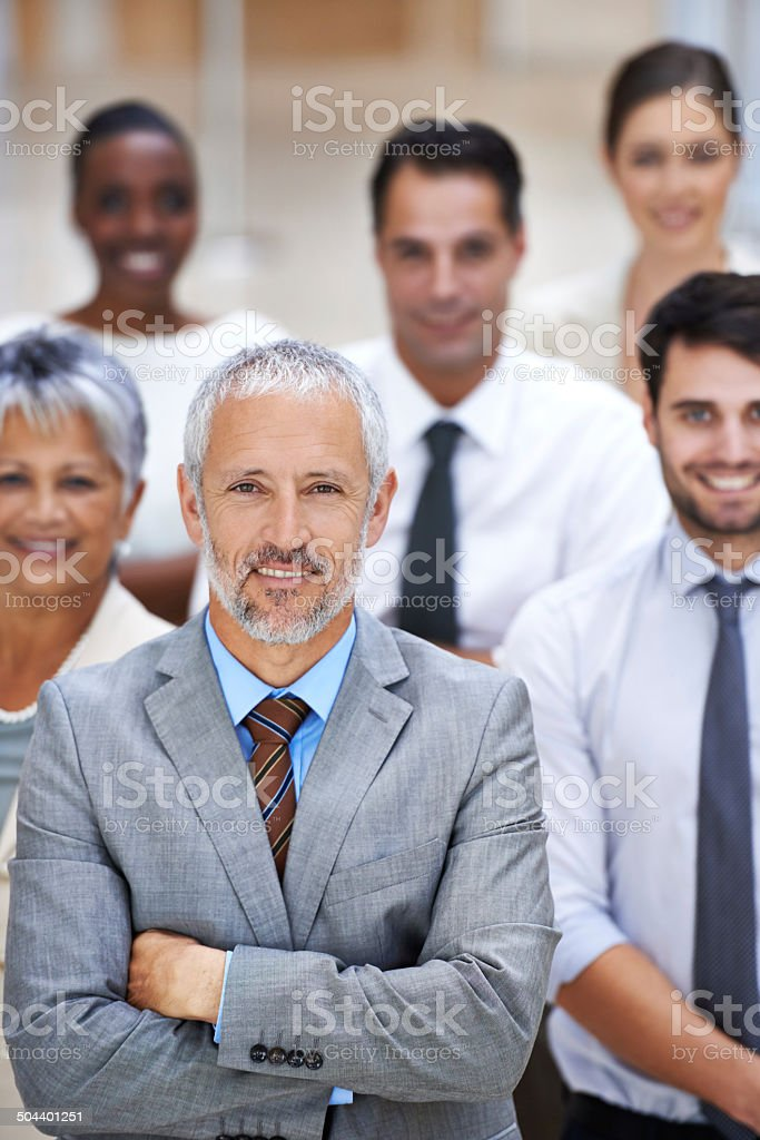 We turn possibilities into realities stock photo