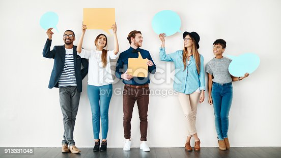 855443864 istock photo We want to share our thoughts 913331048