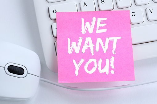 587228412 istock photo We want you jobs, job working recruitment employees business concept 587228412