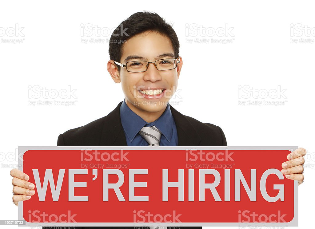 We Want You royalty-free stock photo