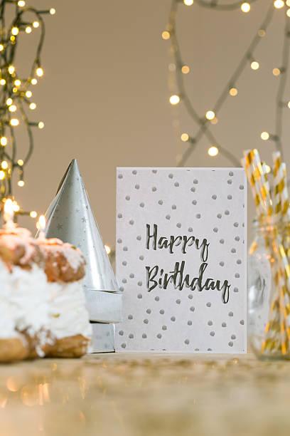 Ti auguriamo un Buon Compleanno! - foto stock
