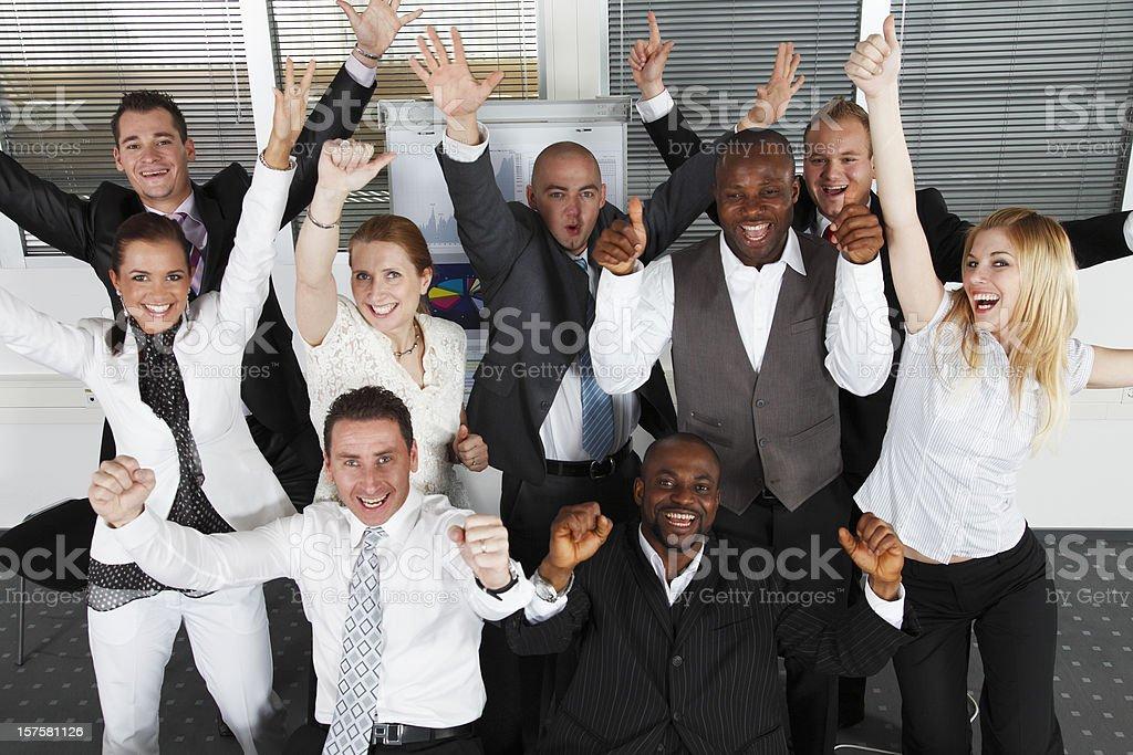 We won royalty-free stock photo