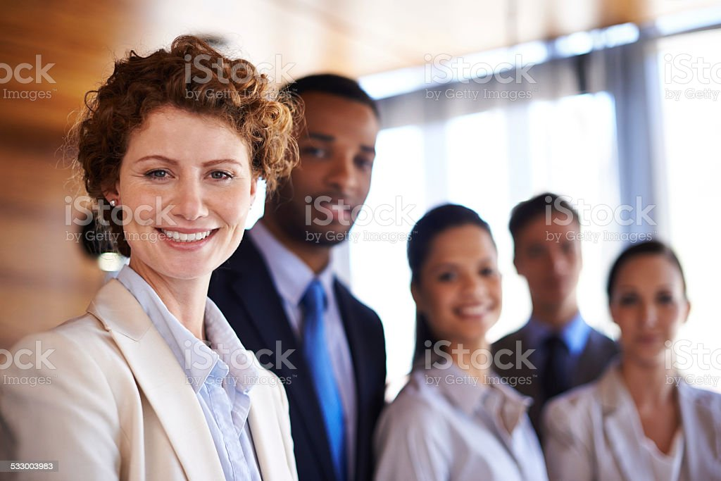 We won't disappoint you stock photo