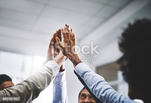 istock We work well together 863497552