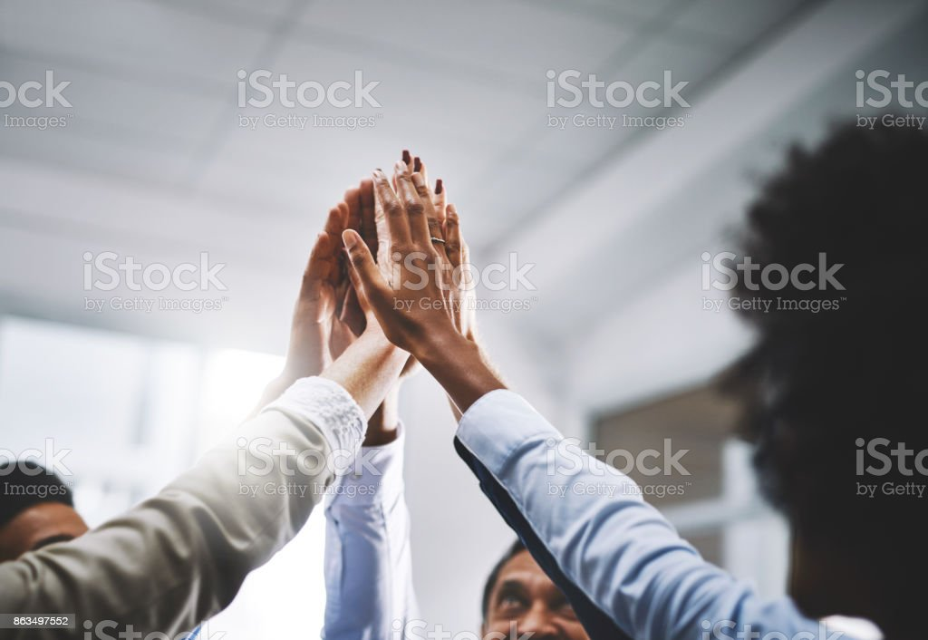 We work well together - foto stock