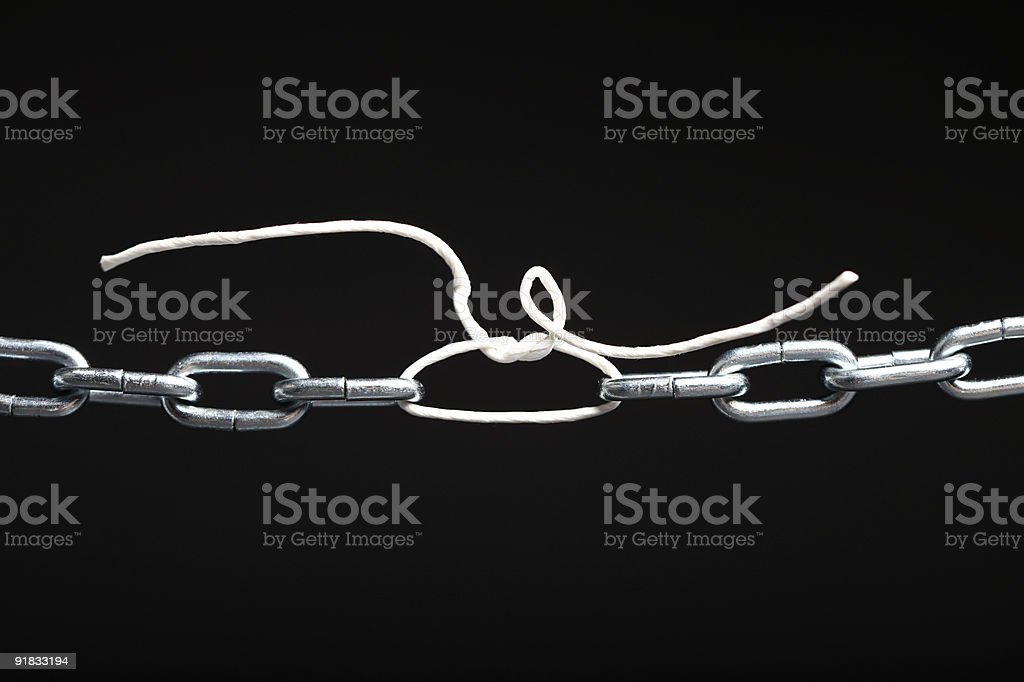 Weak Connection royalty-free stock photo