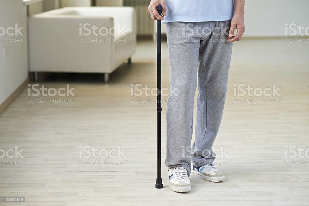 Weak legs stock photo
