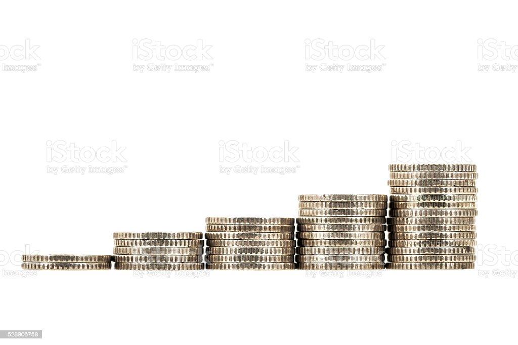 Wealth growing stock photo