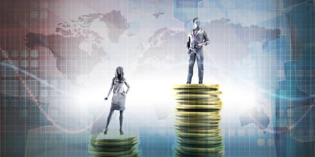 Wealth Inequality stock photo