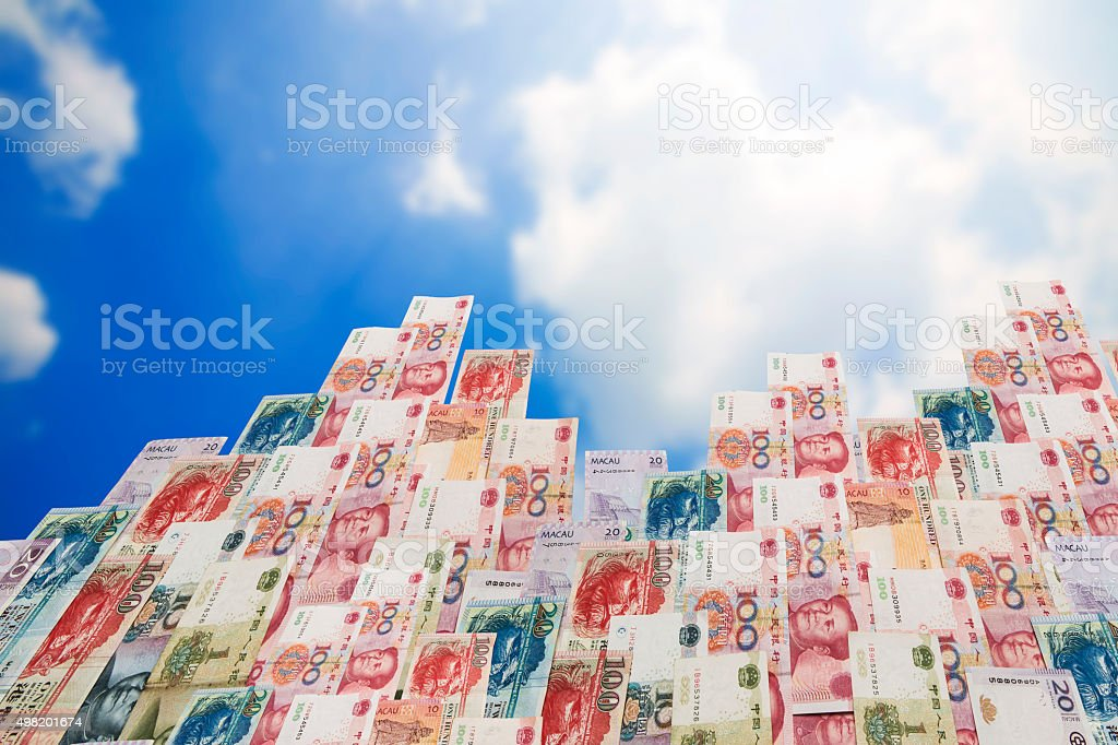Wealth of China stock photo