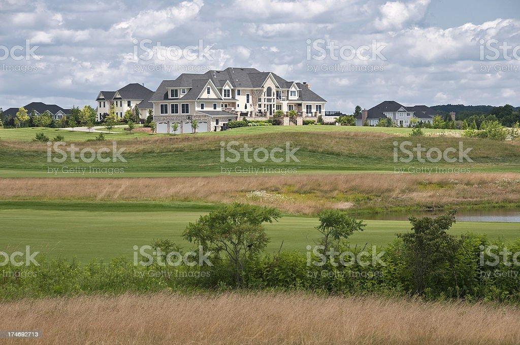 Wealthy Community stock photo