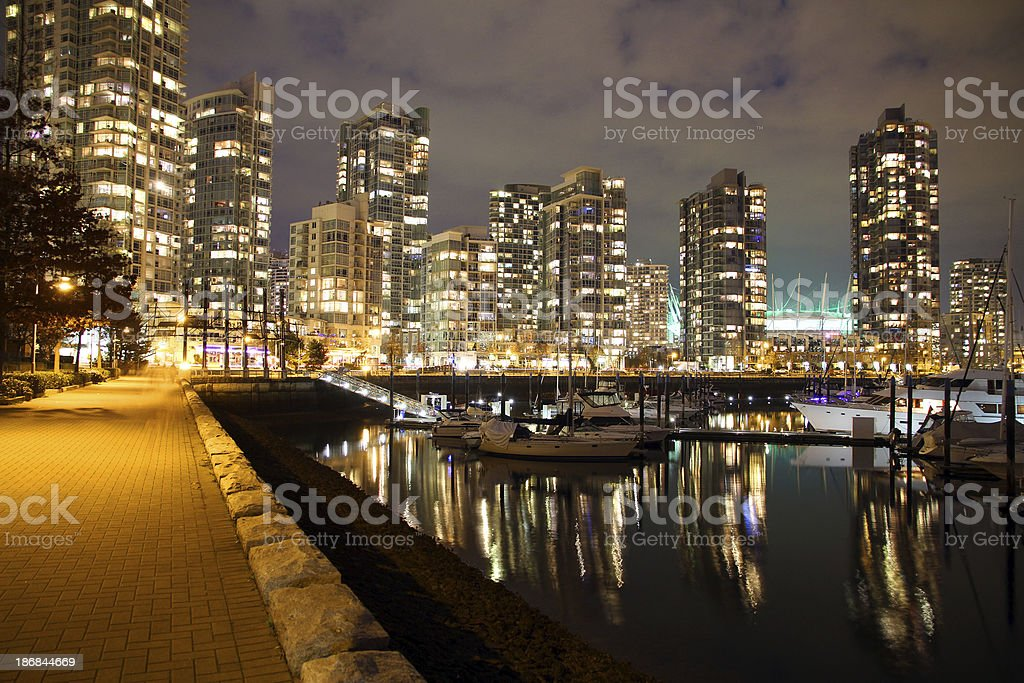 Wealthy Harbour royalty-free stock photo