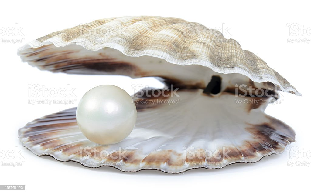 wealthy pearl stock photo