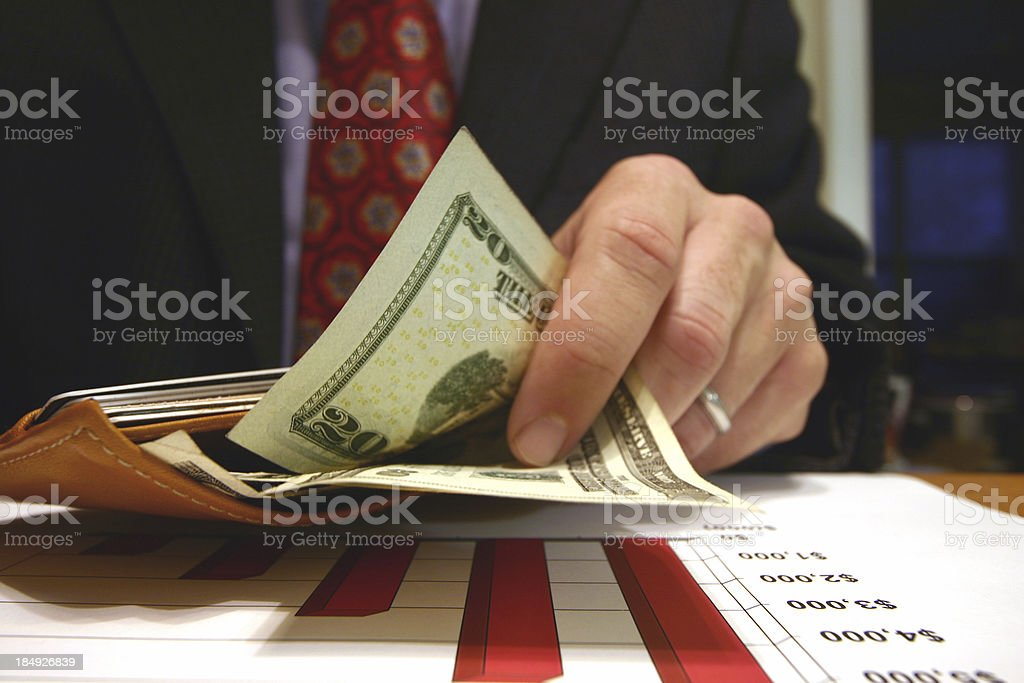 Wealthy royalty-free stock photo