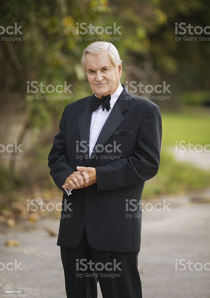wealthy senior royalty-free stock photo