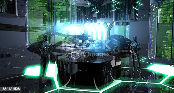 istock Weapon Development Department of The Future 884121508
