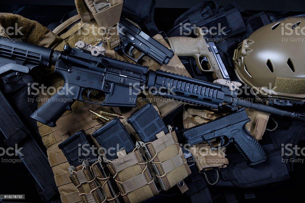Weapons stock photo